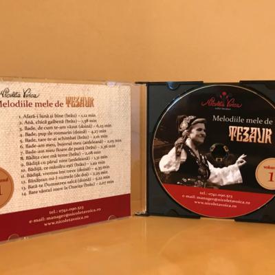 """Melodiile mele de tezaur "" Nicoleta Voica – CD 1"