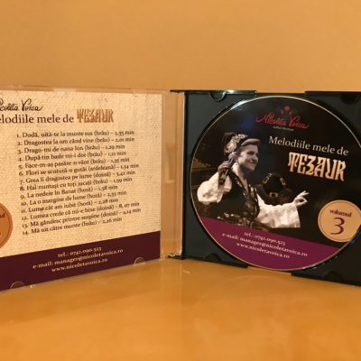 """Melodiile mele de tezaur "" Nicoleta Voica – CD 3"