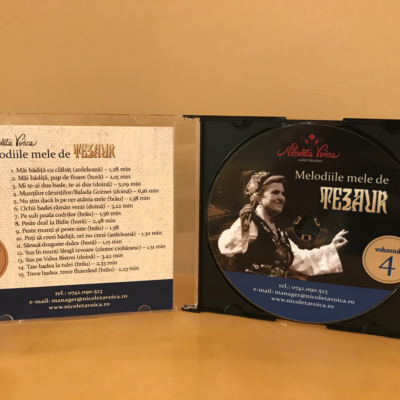 """Melodiile mele de tezaur "" Nicoleta Voica – CD 4"