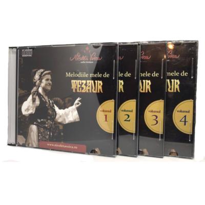 "Set 4 CD-uri ""Melodiile mele de tezaur "" Nicoleta Voica"